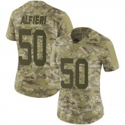Camo Women's Joey Alfieri San Francisco 49ers Limited 2018 Salute to Service Jersey